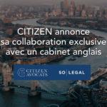 partenariat exclusif avec un cabinet anglais